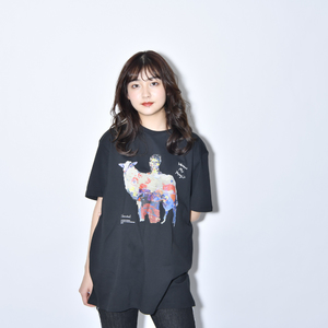 Where's My Yoyogi? TEE(油絵・黒)