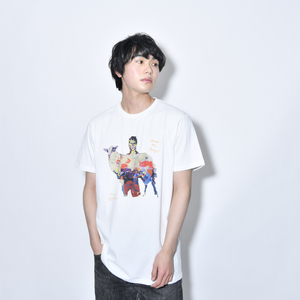 Where's My Yoyogi? TEE(油絵・白)