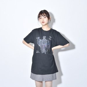 Where's My Yoyogi? TEE(スケルトン黒)