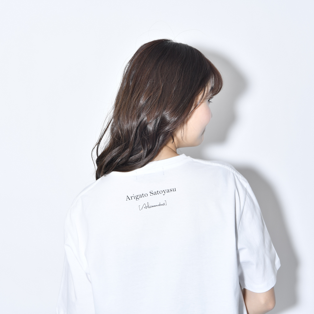 Satoyasu TEE(WHITE)