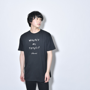 Where's My Yoyogi? LOGO TEE(BLACK)