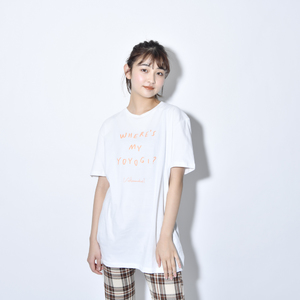 Where's My Yoyogi? LOGO TEE(WHITE)