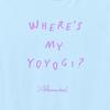 Where's My Yoyogi? LOGO TEE(LIGHT_BLUE)
