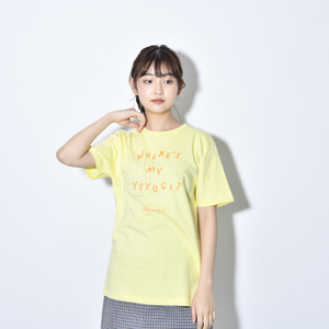 Where's My Yoyogi? LOGO TEE(LIGHT_YELLOW)