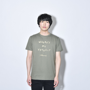 Where's My Yoyogi? LOGO TEE(ARMY_GREEN)