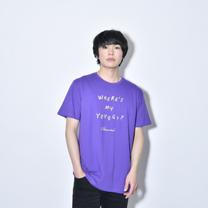 Where's My Yoyogi? LOGO TEE(PURPLE)