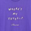 Where's My Yoyogi? LOGO TEE(PURPLE)