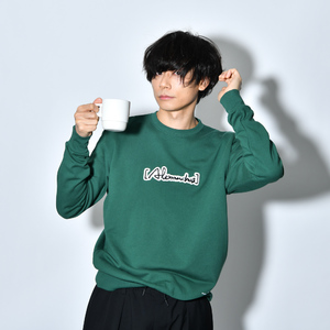 Patch Sweat Shirt(IVY_GREEN)