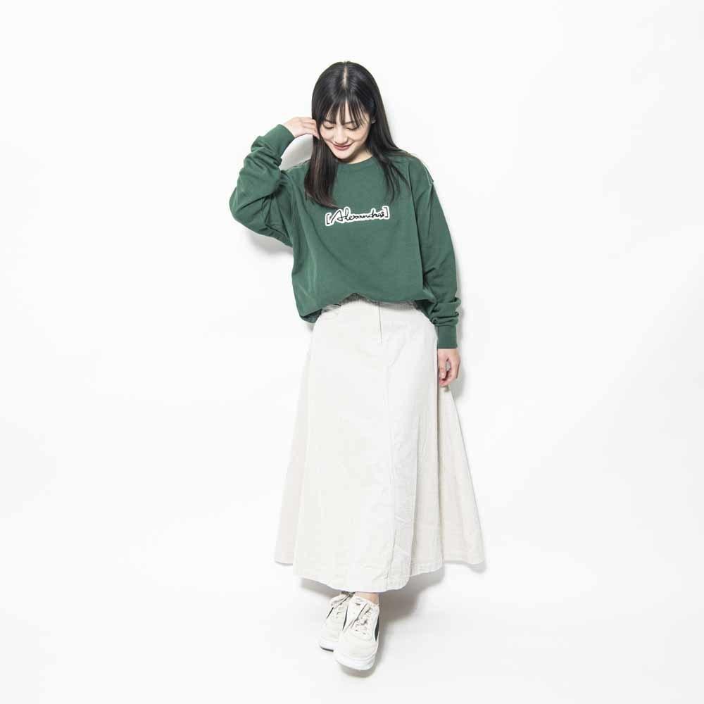 Patch Sweat Shirt(IVY_GREEN)
