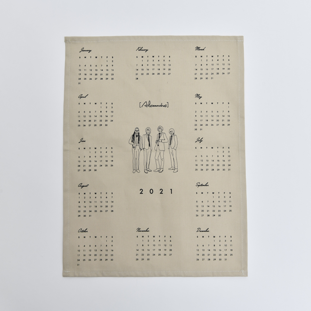 Fabric Poster Calender