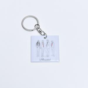 illust. Metal Keychain