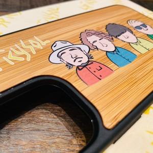 【受注生産:3/7まで】SPiCYSOL × KIBACOWORKS コラボiPhoneケース(KENNY手書きイラスト)