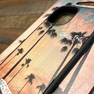 【受注生産:3/7まで】SPiCYSOL × KIBACOWORKS コラボiPhoneケース(ヤシの木)