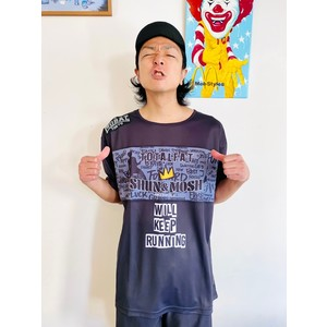 【受注生産】Shun生誕記念Tシャツ2021「Shun × MOBSTYLES DRY TEE」(BLACK)
