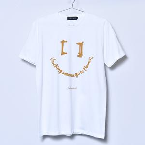 I fucking wanna go to Hawaii Tee A (White)