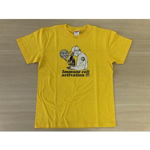 免疫細胞活性化Tシャツ(カナリヤイエロー)