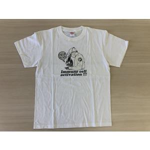 免疫細胞活性化Tシャツ(バニラホワイト)