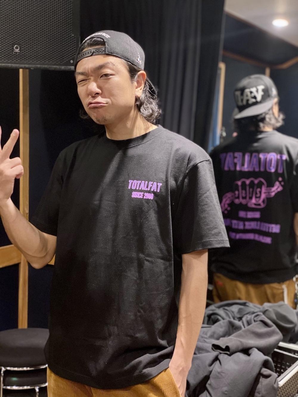 TOTALFAT 21周年Tシャツ