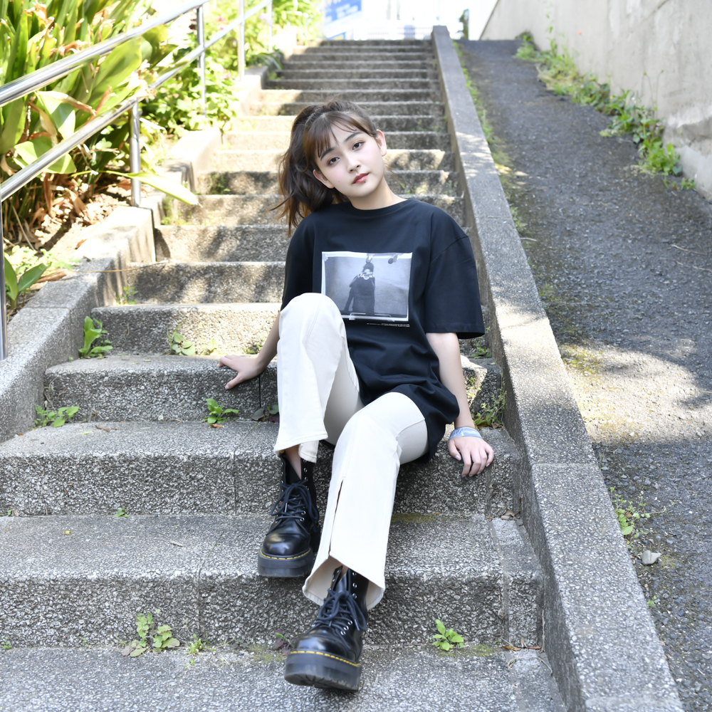 Photo Tee(BLACK)