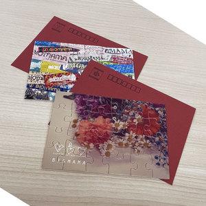 【NEW DESIGN】パズルポストカード セット