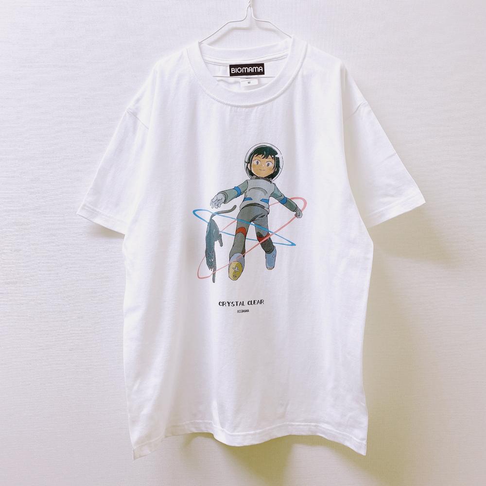 らっパル×BIGMAMA CRYSTAL CLEAR Tシャツ
