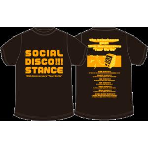 SOCIAL DISCO STANCE Tシャツ(スミ)