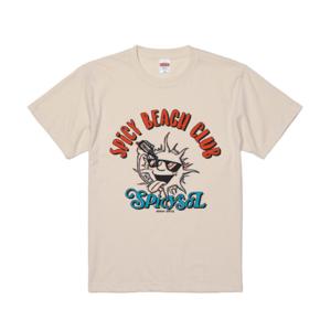 【受注生産~7/14まで受付】SOL Tシャツ(ナチュラル)