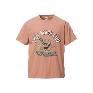 【受注生産~7/14まで受付】SOL Tシャツ(コーラルベージュ)
