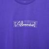 Sketch Logo Tee(Purple)
