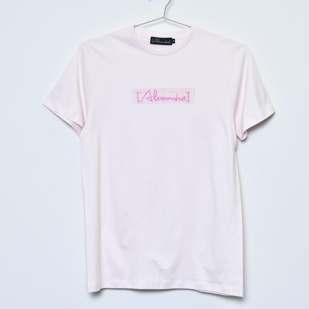 Sketch Logo Tee(Light Pink)